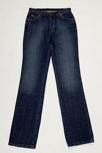 Wrangler-jeans-evolution-uomo-usato-W32-L36-tg-46-straight-denim-boyfriend-T5315