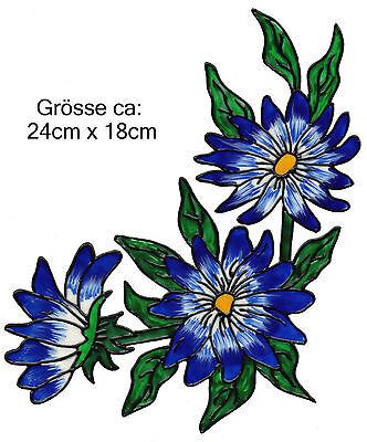 Fensterbild Window Color Bild Fenstersticker Schmetterling Blau Weiß 002e