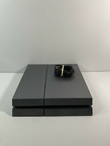 Sony PlayStation 4 PS4 Launch Edition CUH-1001A 500GB Black Console + PowerCable