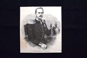 Il-Principe-Federico-Carlo-di-Prussia-Incisione-del-1870