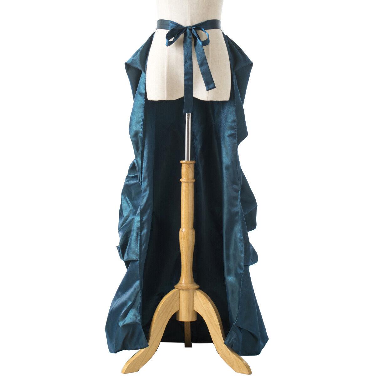 Vintage Victorian Edwardian Bustle Skirt Fancy Dr… - image 9