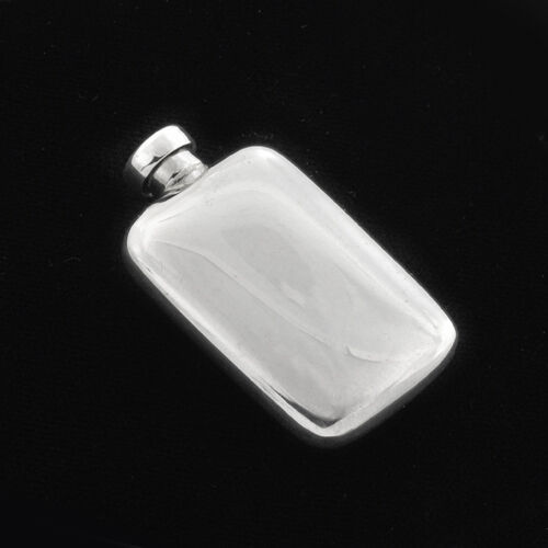 Estate Stunning Lovely miniature 3D sterling silver Perfume Snuff bottle