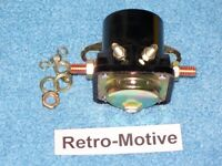 Ford Starter Solenoid 1956-1989 Car/truck Early Style Mustang Ranchero Galaxy 24
