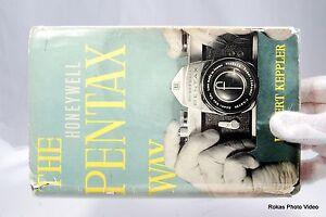 Pentax-Honeywell-Voies-Appareil-Photo-Manuel-Guide-en-Vintage-par-Keppler