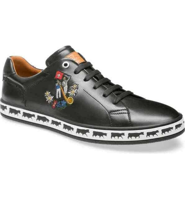 MEN BALLY ANISTERN BLACK SNEAKERS SHOES