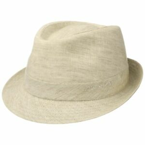 los angeles fresh styles to buy Details about Stetson Geneva Linen Trilby Women Men Hats linen hat cloth  trilby trend hats