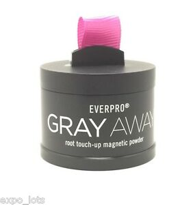New Gray Away Root Touch Up Magnetic Powder Light Brown
