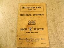 New Listingminneapolis Moline Model R Electrical Equipment Manual Book R 820