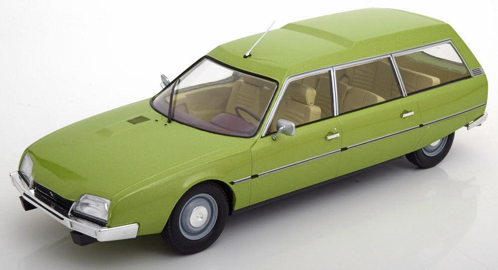 Mcg 1976 CITROEN CX 2400 2400 2400 Super romper Luz verde Escala 1 18 Nuevo  en Stock  2cb411