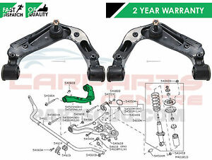 Para-Nissan-Navara-2-5-TD-D40-Suspension-Delantera-Superior-Wishbone-Brazos-Control-LH-RH