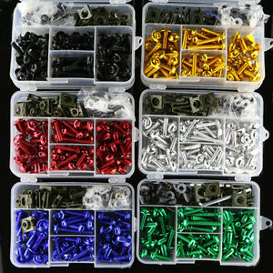 Fit-For-Kawasaki-CNC-Motorcycle-Complete-Fairing-Bolts-Kit-Bodywork-Screws-Nuts