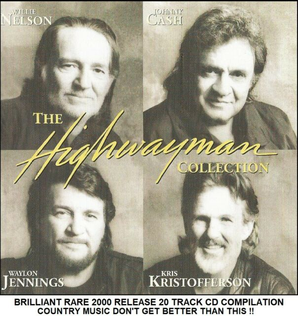 Very Best Greatest Hits Of Nelson Cash Jennings Kristofferson - Country Music CD