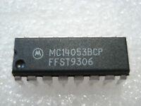 IC 14053 hier MC14053BCP (Motorola)