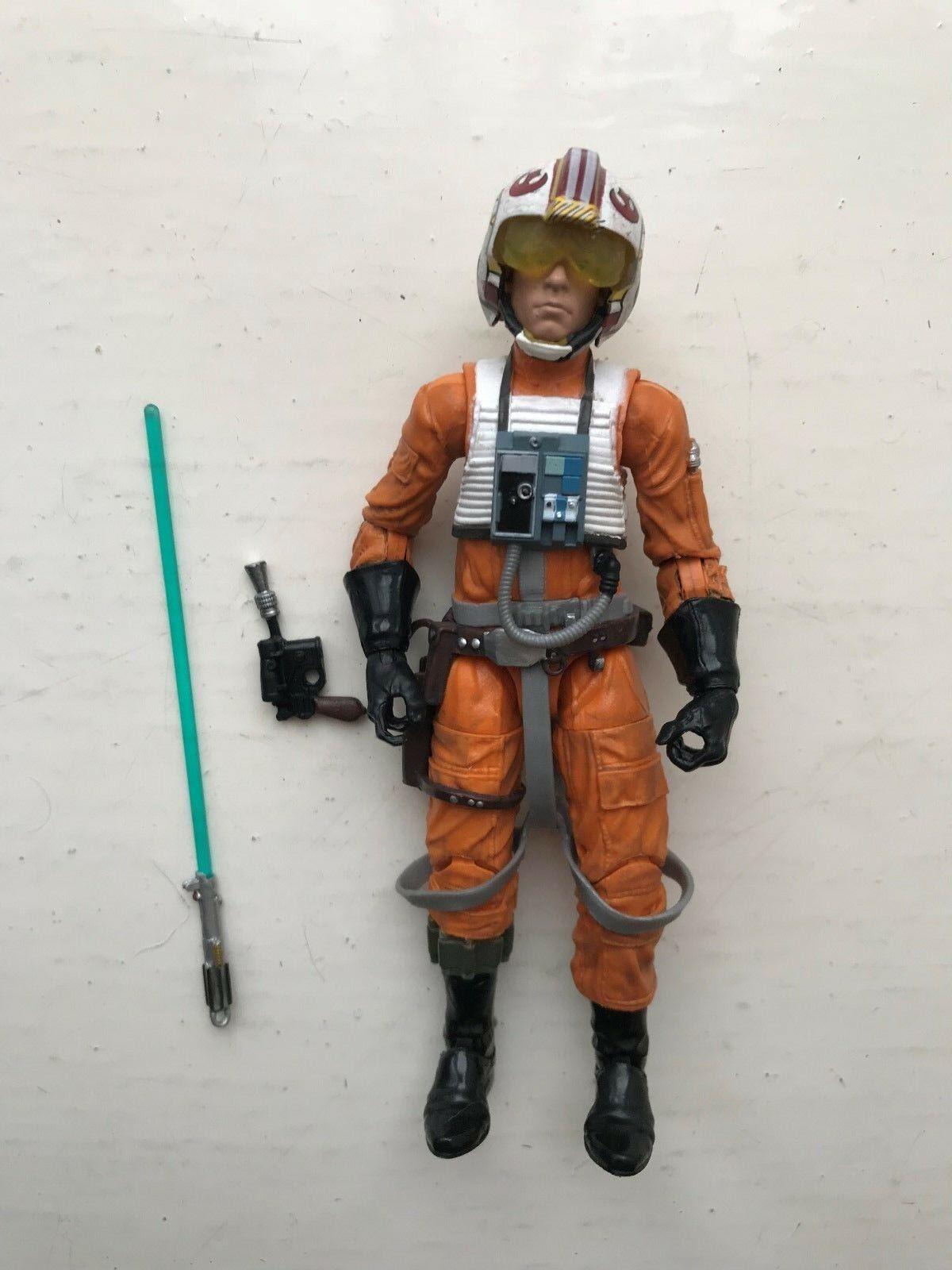 STAR Wars il Nero Serie Luke Skywalker X-WING PILOT  01 ACTION FIGURE HASBRO