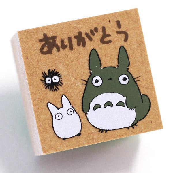 Studio Ghibli My Neighbor Totoro Art Craft Stationery Rubber Stamp (Type B)