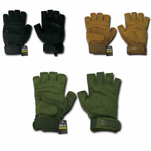 Rapid-Dom-Half-Finger-Gloves-Lightweight-Tactical-Patrol-Motorcycle-Bike-Driving