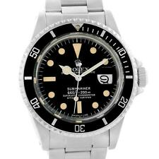 Rolex Submariner Vintage Stainless Steel Mens Watch 1680