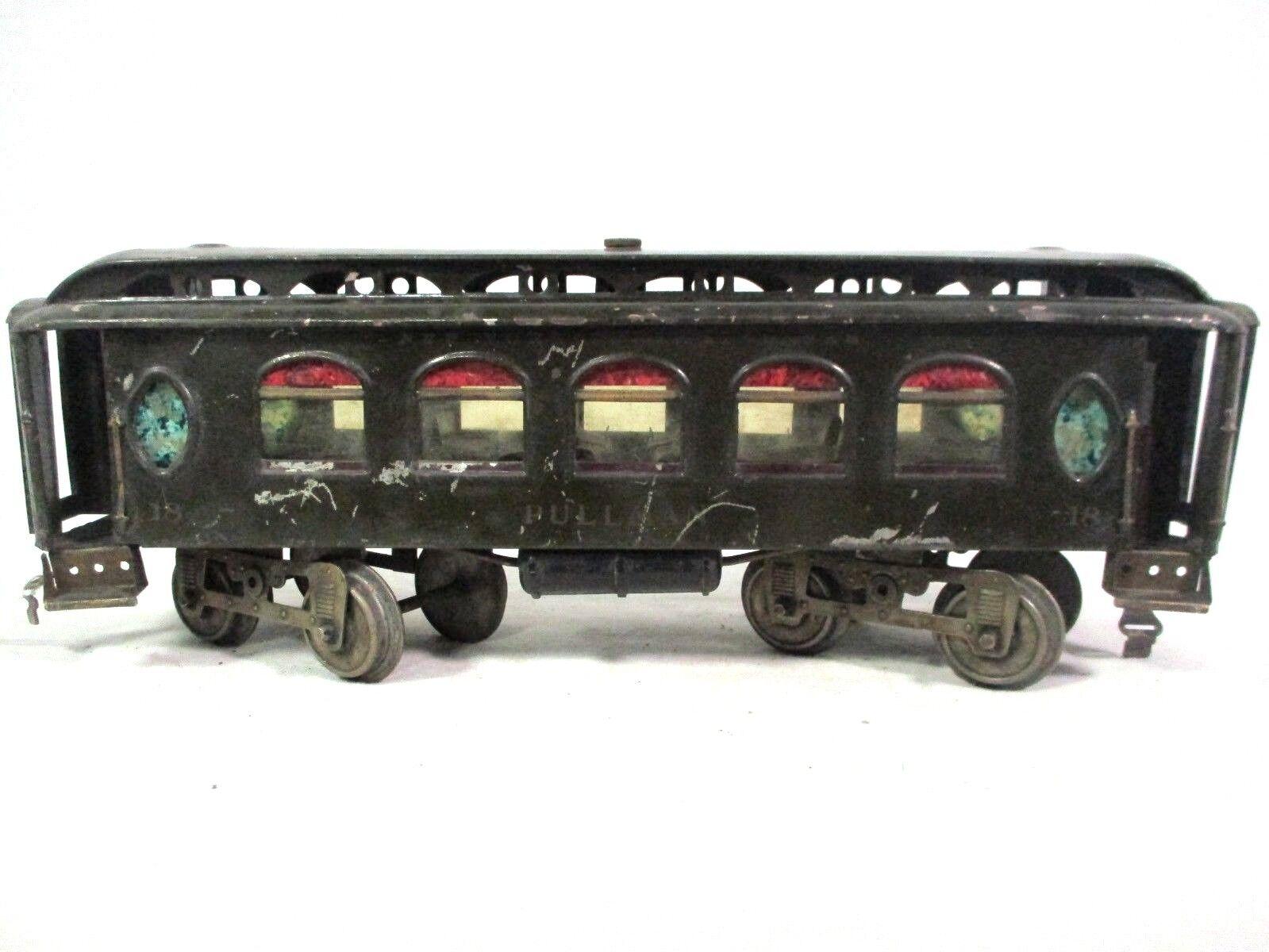 Lionel fabrica 35 escudos 18 autobuses Pullman, el el el antiguo ferroCocheril b19, antes de 1917. 5d1