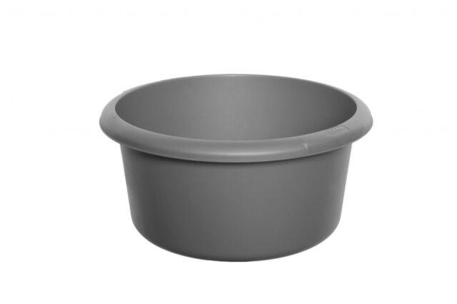 Whitefurze Black 26 Cm Small Round Graphite Bowl Kitchen Basin Washing Home New