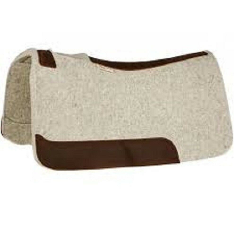 5 STAR EQUINE  PRODUCTS  THE BARREL RACER  30 X 28 PREMIUM WESTERN SADDLE PAD  up to 65% off