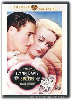 The Sisters DVD New Errol Flynn Bette Davis Anita Louise Ian Hunter