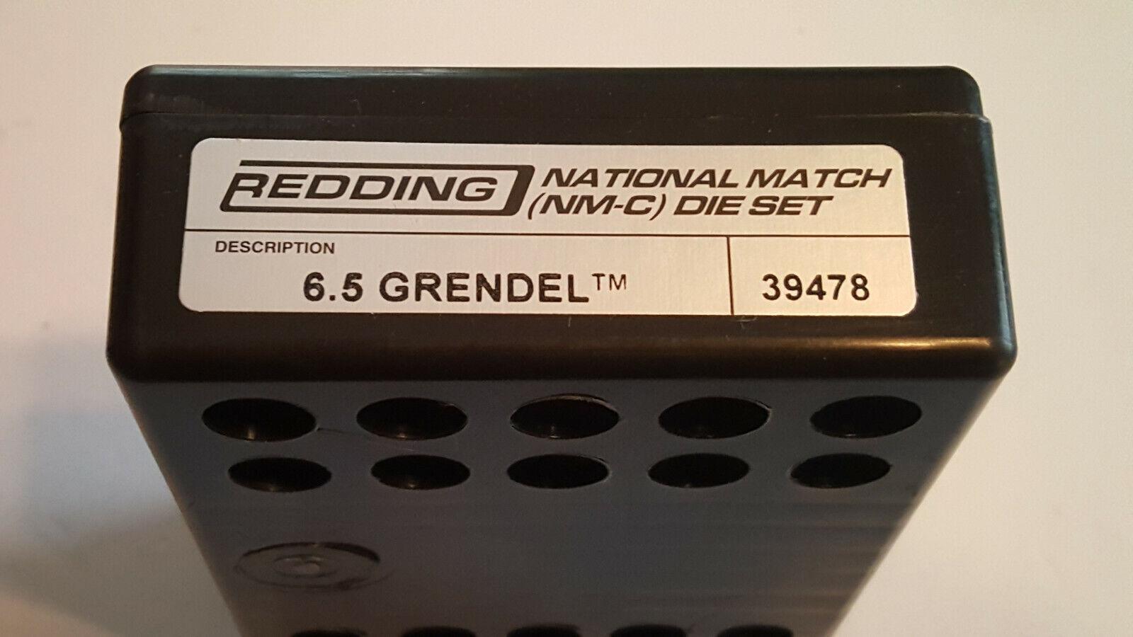 39478 rojoDING 6.5 Grendel partido Die Set-NATIONAL Nuevo-Envío Gratis