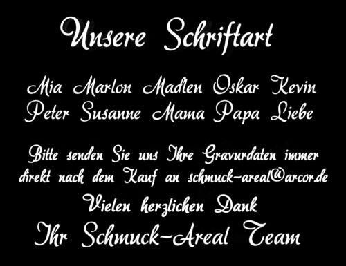 Wunschgravur echt Silber 925 Taufset Taufuhr Schutzengel mit Panzerkette inkl