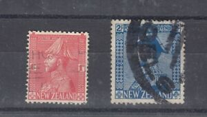 New-Zealand-1926-1d-2-Admirals-Used-J5526