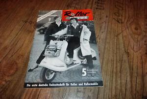 roller revue nr 5 1956 test triumph tessy 125ccm bella r. Black Bedroom Furniture Sets. Home Design Ideas