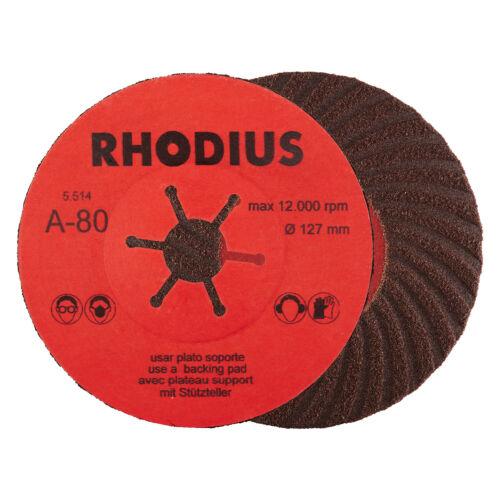25 RHODIUS PROline Fiberscheiben Schleifscheiben K 80 für Winkelschleifer