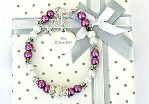 Christliche Kommunion Geschenk Blumen Armband Fur Madchen
