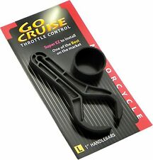 """Motorcycle Cruise Control Go Cruise Throttle Assist Lock for 1"""" Bars Easy Use"""