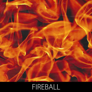 Fireball Hydrographic Film dip stick hydro show motorcycle