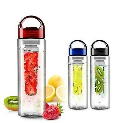 Sports Bicycle Fruit Infusing Infuser Water Bottle Health Lemon Juice Make New