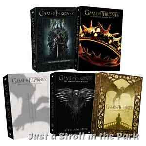 Game of Thrones: Complete Series Seasons 1-7 DVD Box Set