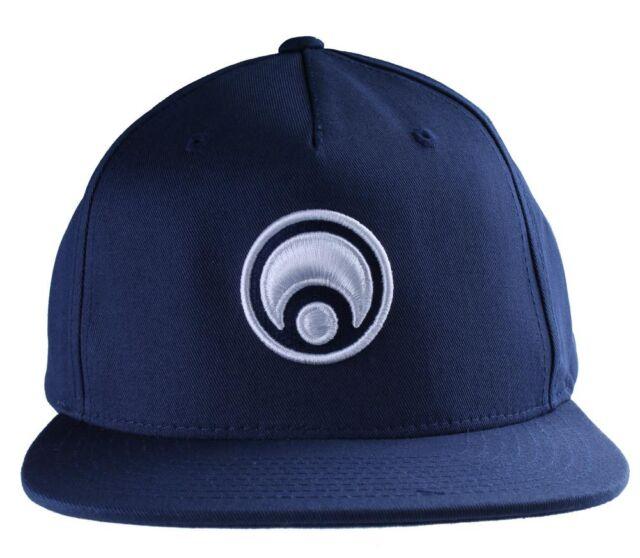 50fc9d2bd5f Osiris Skateboarding Navy White Standard Logo Snapback Baseball Hat Cap NWT