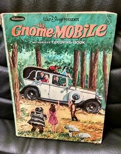 Image Is Loading Walt Disney The Gnome Mobile Coloring Book 1967