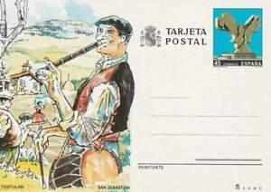 Spanje briefkaart tarjeta postal onbeschreven - Txistulabi San Sebastian (12)
