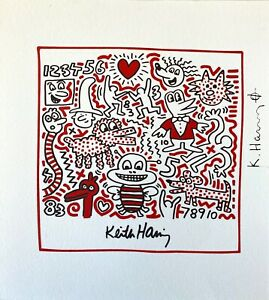 Keith-Haring-Bee-Untitled-High-Quality-Color-Lithograph