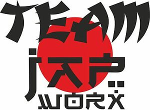 TEAM-JAPWORX-VINYL-CAR-STICKER-3-SIZES-ANY-COLOUR-jdm-decal-drift-logo-club