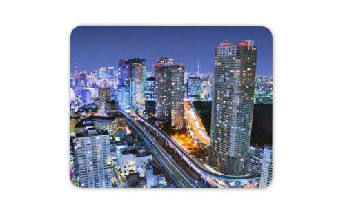Minato City Tokyo Japan Mouse Mat Pad City Scene Japanese Gift Computer #8931