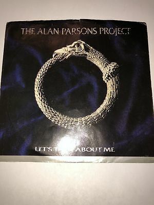 Music The Alan Parsons Project Let's Talk About Me Arista 45 Picture Sleeve Only Punctual Timing