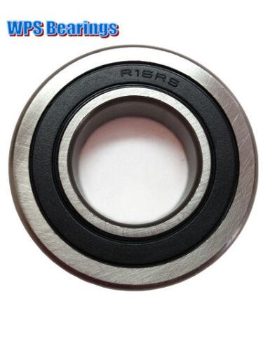Pack of 1 R16-2RS Single Row Ball Bearing 1.00/'/' x 2.00/'/' x 0.50/'/'