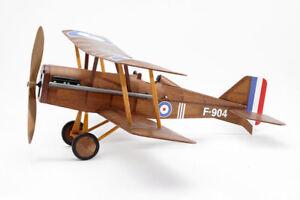 RAF SE5A Bi-Plane: Balsa Wood Plane Kit by Vintage Model Co Wingspan 410mm