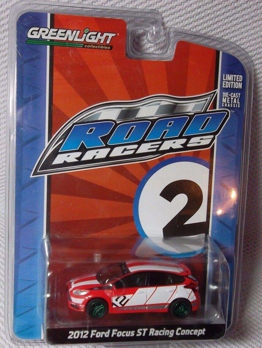 Venta en línea de descuento de fábrica 2012 Ford Focus Estrella Estrella Estrella Trek Racing verdelight Road Racers Persecución de máquina verde   2   05 60  calidad fantástica