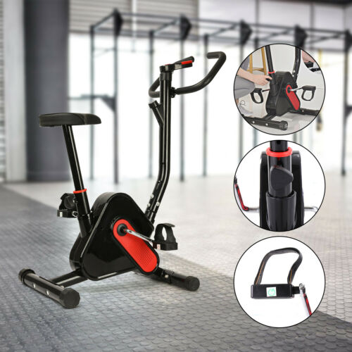 Aerobic Exercise Bike Bicycle Home Fitness Quite Motion Cycling Cardio Trainer E