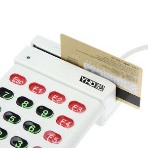 USB-Magnetic-Stripe-Card-Reader-Encoder-Credit-Card-w-Numeric-Keypad