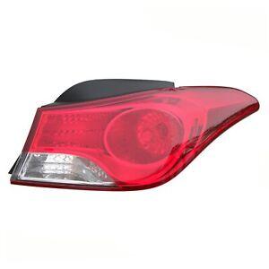 Tail Light Rear Back Lamp for 11-13 Hyundai Elantra Sedan Passenger Right