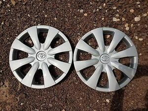 "Brand New 08 09 10 11 12 13 Corolla Hubcap 15/"" Wheel Cover Chrome Emblem 61147"
