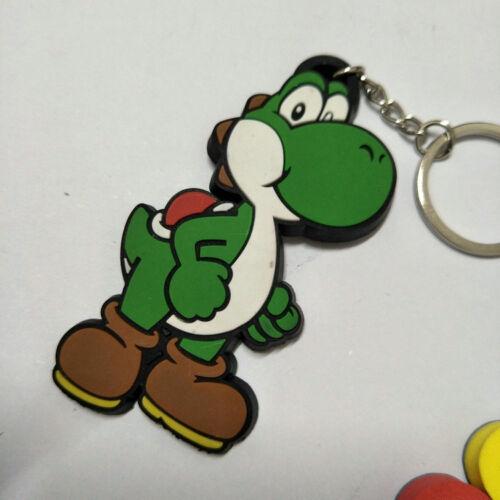super mario brothers anime key chain key chains   cute anime keyring lot